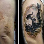 Sieviete taisa bezmaksas tetovējumus vardarbībā cietušām sievietēm 5