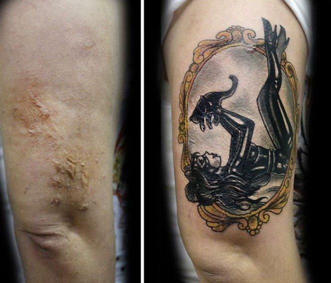 Sieviete taisa bezmaksas tetovējumus vardarbībā cietušām sievietēm 1