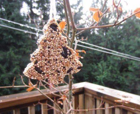 Pagatavojiet kopā ar bērniem ziemas cienastu putniņiem 1