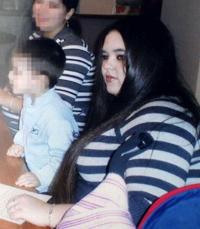 Trīs bērnu māte atbrīvojās no 70 kg, lai varētu līdzināties Andželinai Džolijai 1