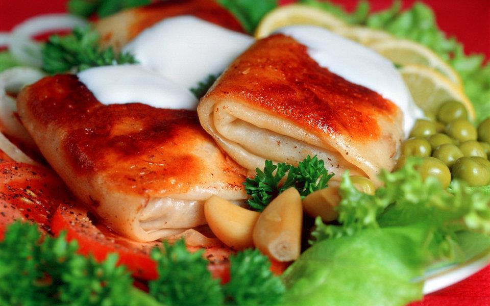 Pankūkas ar gaļu! Laba recepte!