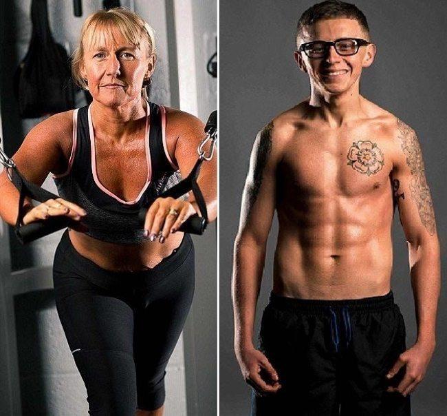 Māte un dēls nolēma mainīt savu dzīvesveidu. Rezultāts bija pārsteidzošs 5