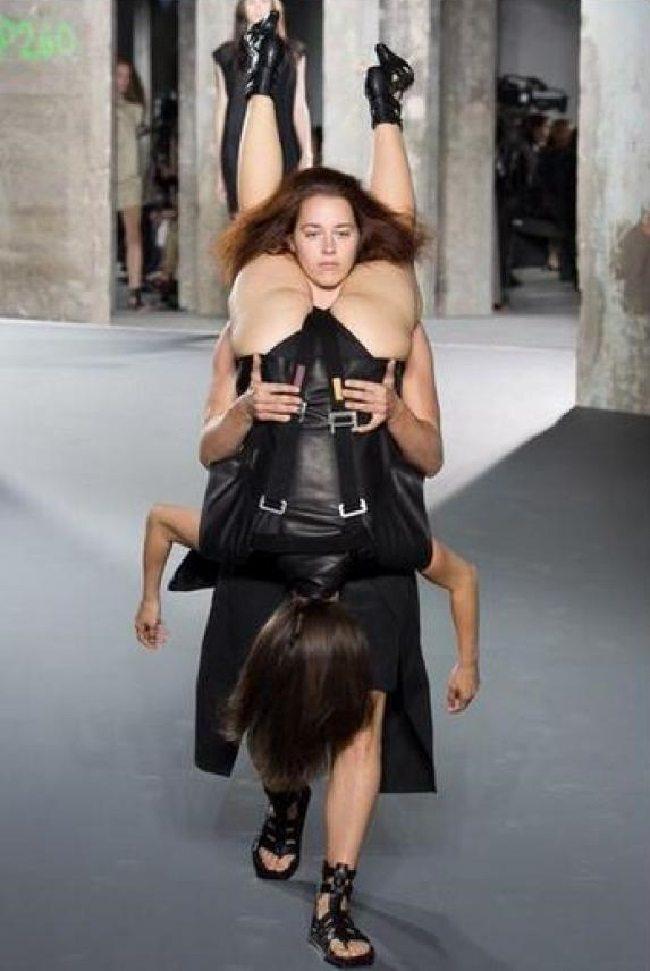 Modes dizaineri nebeidz vien pārsteigt. Bet šis jau nu gan bija nedaudz par traku 6