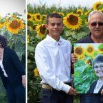 Savas sievas piemiņai vīrs iestādīja 160 hektārus ar saulespuķēm 6