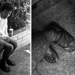 Pēc 10 gadu ilgas bezpajumtnieku fotogrāfēšanas,meitene viņu vidū atrada savu tēvu 3