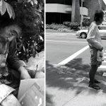 Pēc 10 gadu ilgas bezpajumtnieku fotogrāfēšanas,meitene viņu vidū atrada savu tēvu 4