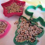 Pagatavojiet kopā ar bērniem ziemas cienastu putniņiem 3