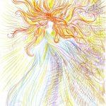 Māksliniece iedzēra LSD  un gleznoja 9 stundas, lai parādītu kā narkotikas iedarbojas uz smadzenēm 10