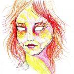 Māksliniece iedzēra LSD  un gleznoja 9 stundas, lai parādītu kā narkotikas iedarbojas uz smadzenēm 5