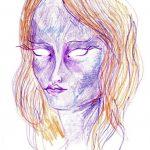 Māksliniece iedzēra LSD  un gleznoja 9 stundas, lai parādītu kā narkotikas iedarbojas uz smadzenēm 6