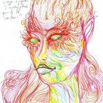 Māksliniece iedzēra LSD  un gleznoja 9 stundas, lai parādītu kā narkotikas iedarbojas uz smadzenēm 18