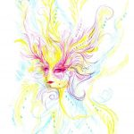 Māksliniece iedzēra LSD  un gleznoja 9 stundas, lai parādītu kā narkotikas iedarbojas uz smadzenēm 8