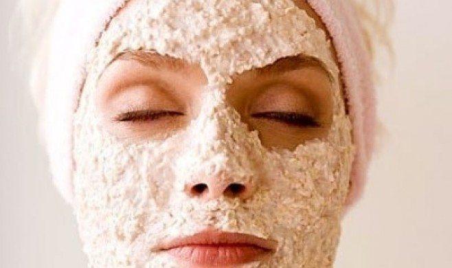 Auzu pārslu sejas maska ar satriecošu pretgrumbu efektu!