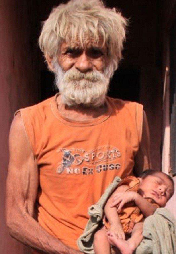 Stāsts par vīrieti, kurš 94 gados pirmo reizi kļuva par tēvu 1