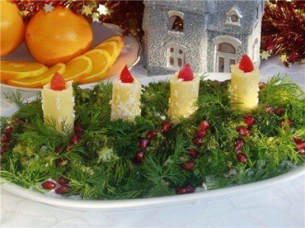 Uzkodu eglītes decembra svētku galdam 1