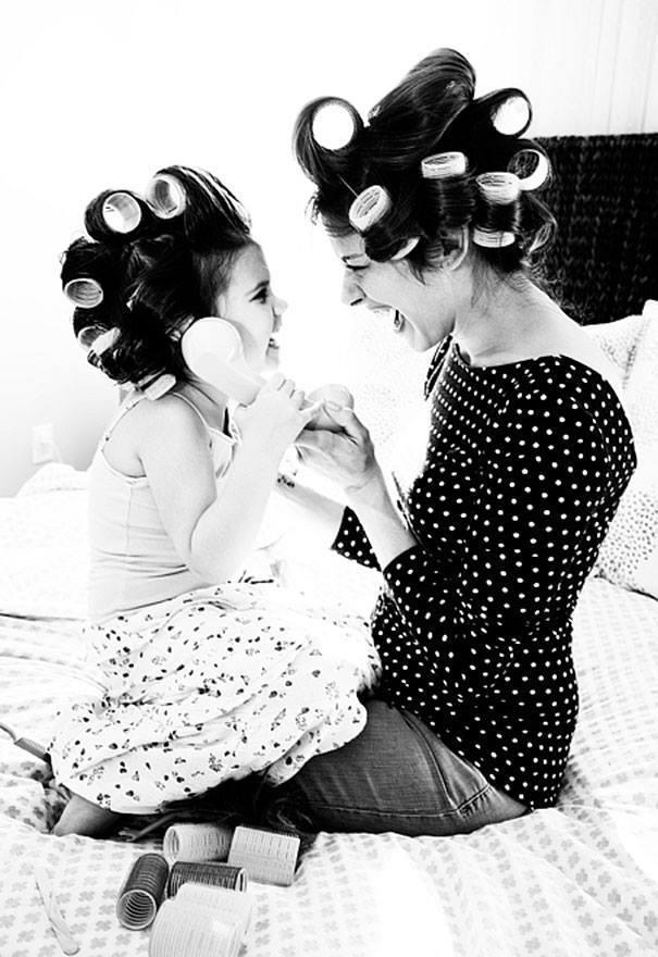 Kāda māte, tāda meita - 10 fotogrāfijās 7