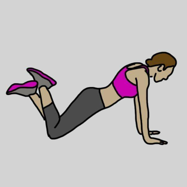 8 vingrinājumi, kuri jūs atbrīvos no ļenganām rokām un nostiprinās to muskuļus 2