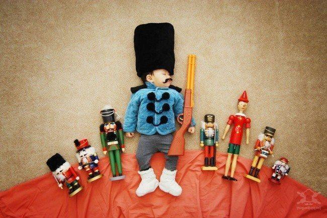 20 fantastiskas idejas kreatīvai zīdaiņu fotosesijai 11