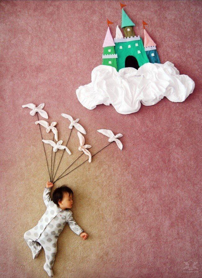 20 fantastiskas idejas kreatīvai zīdaiņu fotosesijai 1