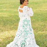 Savai greznajai kāzu kleitai viņa iztērēja tikai 70$! Iedvesmojies! 7