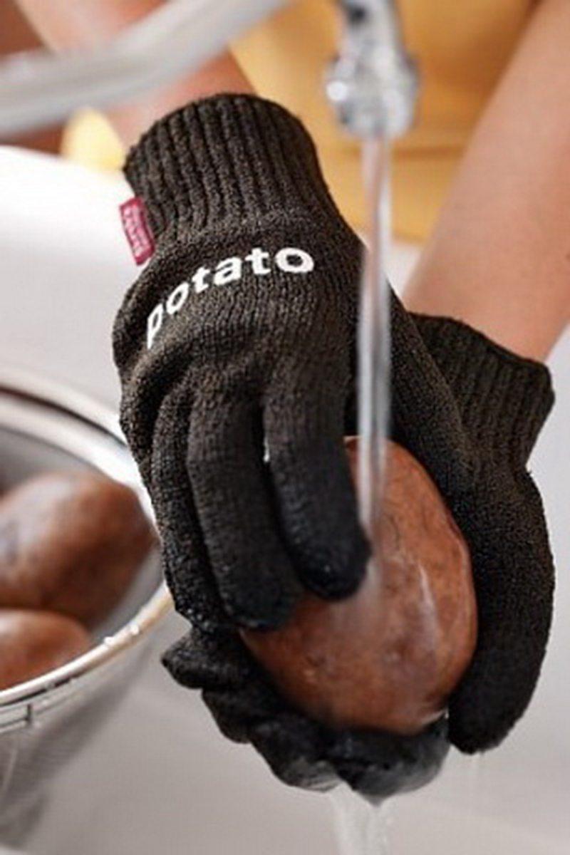 перчатки для мытья картофеля