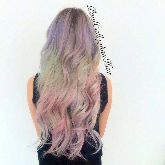 Jauna matu krāsošanas mode - opāla krāsas mati 3