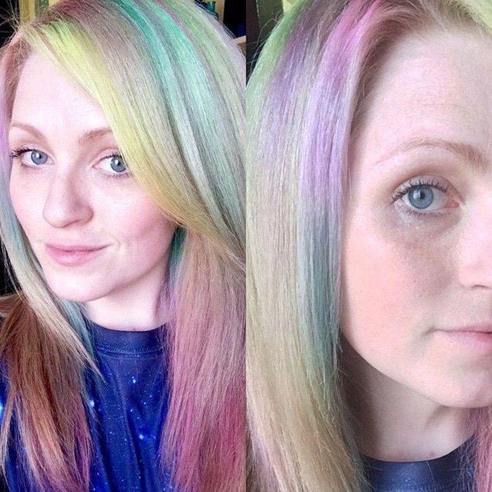 Jauna matu krāsošanas mode - opāla krāsas mati 4