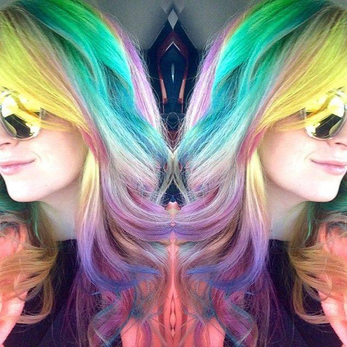Jauna matu krāsošanas mode - opāla krāsas mati 5