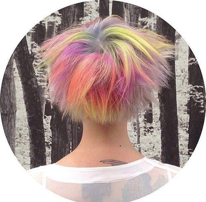 Jauna matu krāsošanas mode - opāla krāsas mati 8