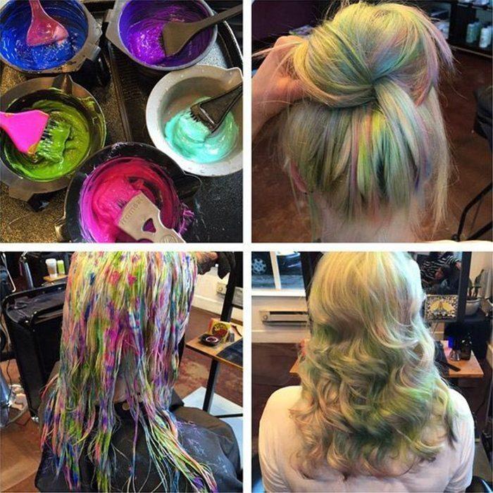 Jauna matu krāsošanas mode - opāla krāsas mati 10