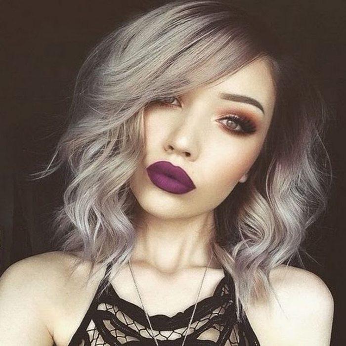 Šī rudens trends: 15+ paši stilīgākie tumšo toņu make-up piemēri 11