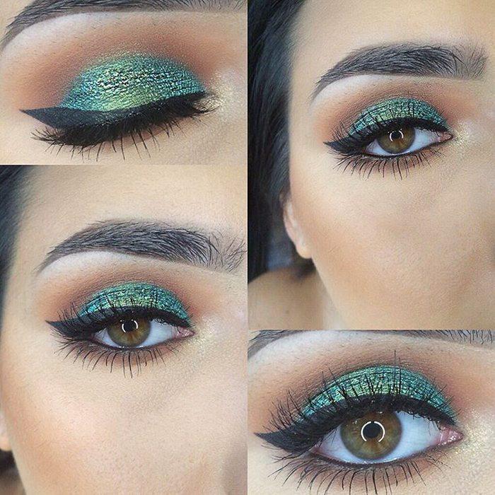 Šī rudens trends: 15+ paši stilīgākie tumšo toņu make-up piemēri 1