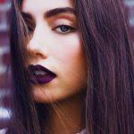 Šī rudens trends: 15+ paši stilīgākie tumšo toņu make-up piemēri 6