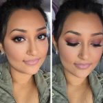 Šī rudens trends: 15+ paši stilīgākie tumšo toņu make-up piemēri 10