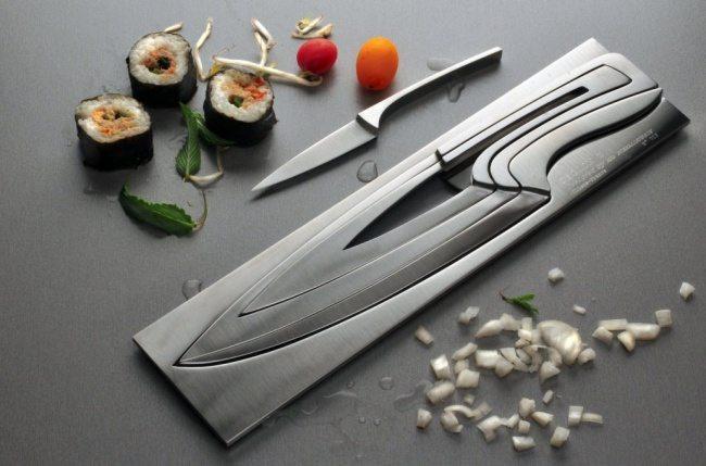 ножи, вставляющиеся друг в друга