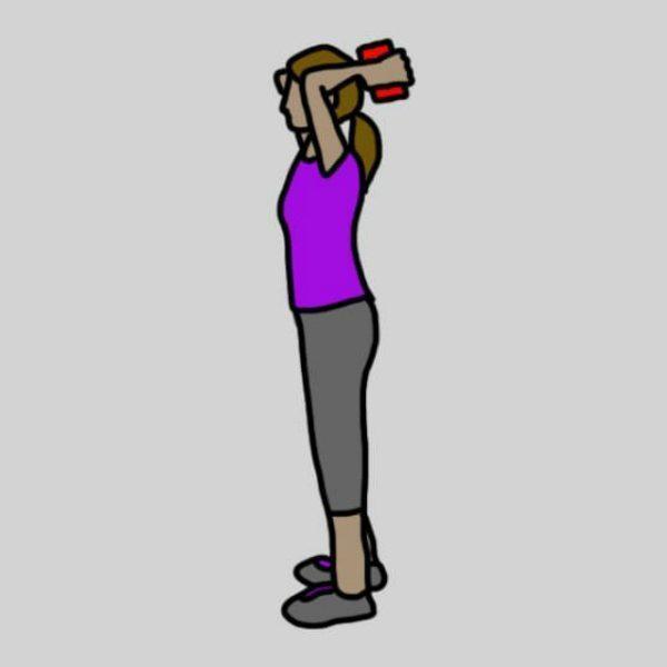 8 vingrinājumi, kuri jūs atbrīvos no ļenganām rokām un nostiprinās to muskuļus 4