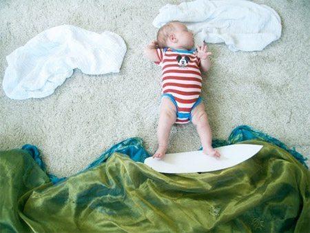 20 fantastiskas idejas kreatīvai zīdaiņu fotosesijai 16