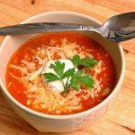 Ļoti viegla tomātu krēmzupa ar sieru 1
