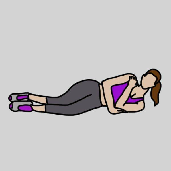 8 vingrinājumi, kuri jūs atbrīvos no ļenganām rokām un nostiprinās to muskuļus 8