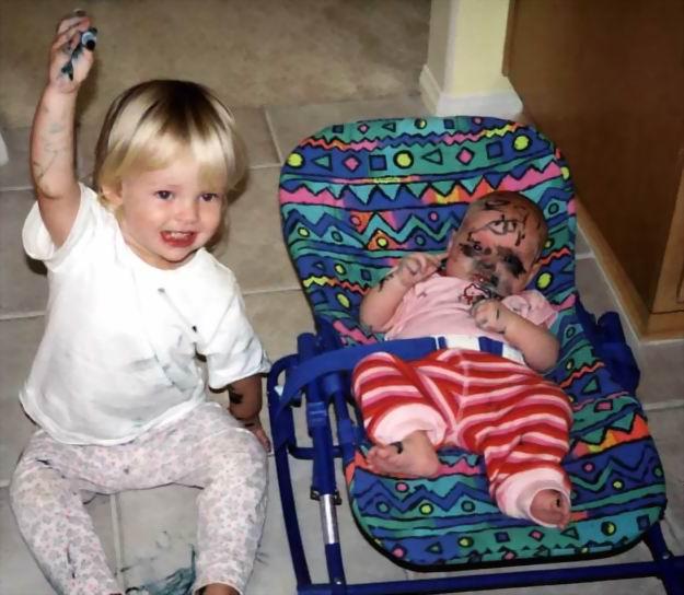 20 iemesli, kādēļ nevar atstāt tēti vienu mājās ar bērniem 9