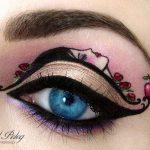 Tas nav vienkārši make-up, bet gan īsts mākslas darbs. 15 vizāžistes Tel Peleg darbi 12