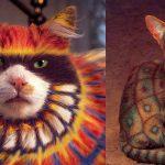 5 kaķu body-art piemēri. Ko tu par to domā? 1