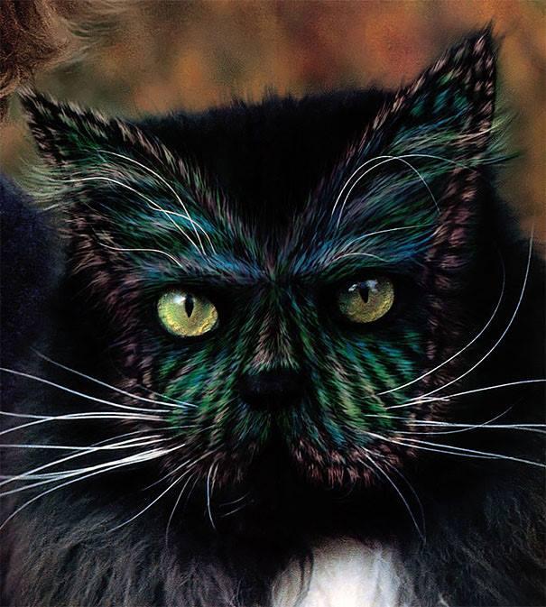 5 kaķu body-art piemēri. Ko tu par to domā? 5