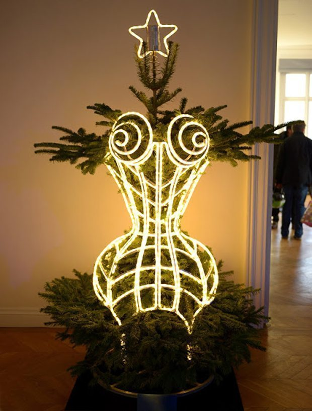 Designers-fir-tree-Jean-Paul-Gaultier