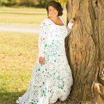 Savai greznajai kāzu kleitai viņa iztērēja tikai 70$! Iedvesmojies! 5