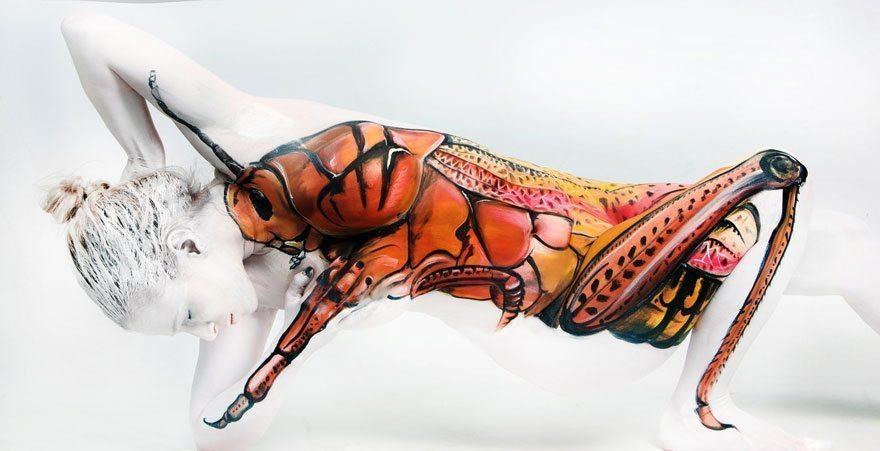 Pārsteidzoša cilvēku pārtapšana mākslas darbiem 11