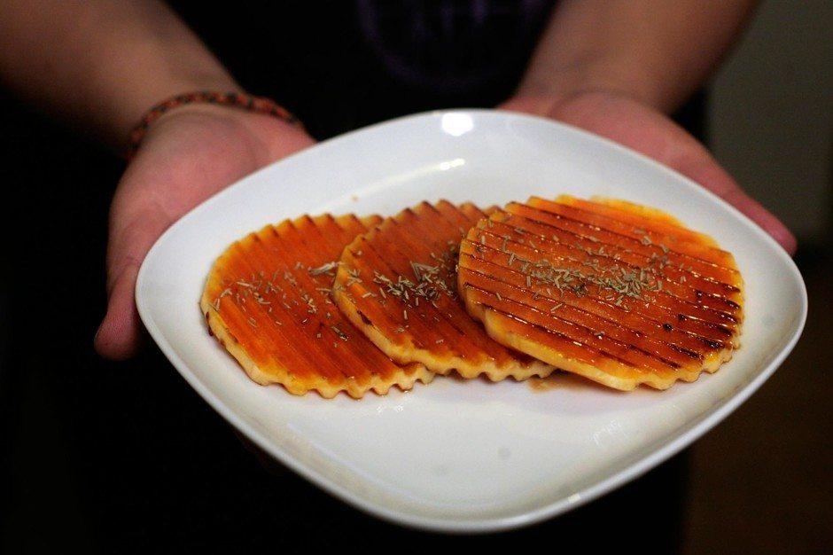 Ātri pagatavojama piedeva no medus ķirbja. Nebiju domājusi, ka tas ir tik garšīgi! 1