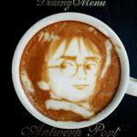 20 fantastiski zīmējumi kafijā 8