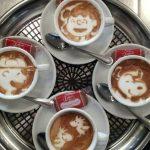 20 fantastiski zīmējumi kafijā 20