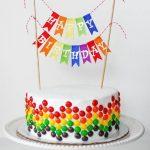 10 vienkārši, bet iespaidīgi veidi kā izdekorēt torti 12